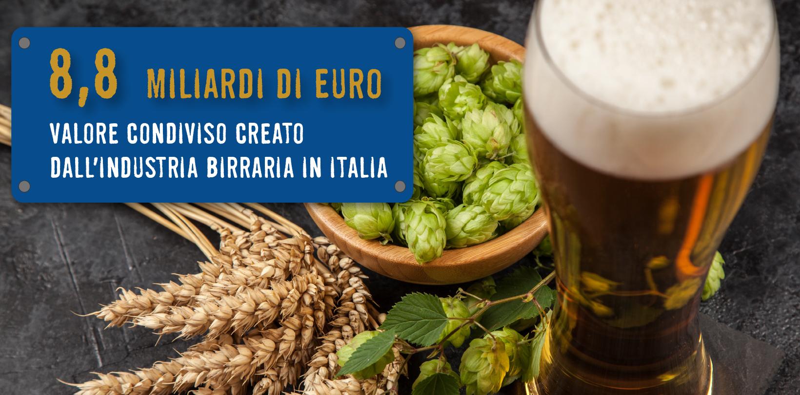 La birra crea valore per l'Italia. Oggi il settore vale quasi 9 miliardi