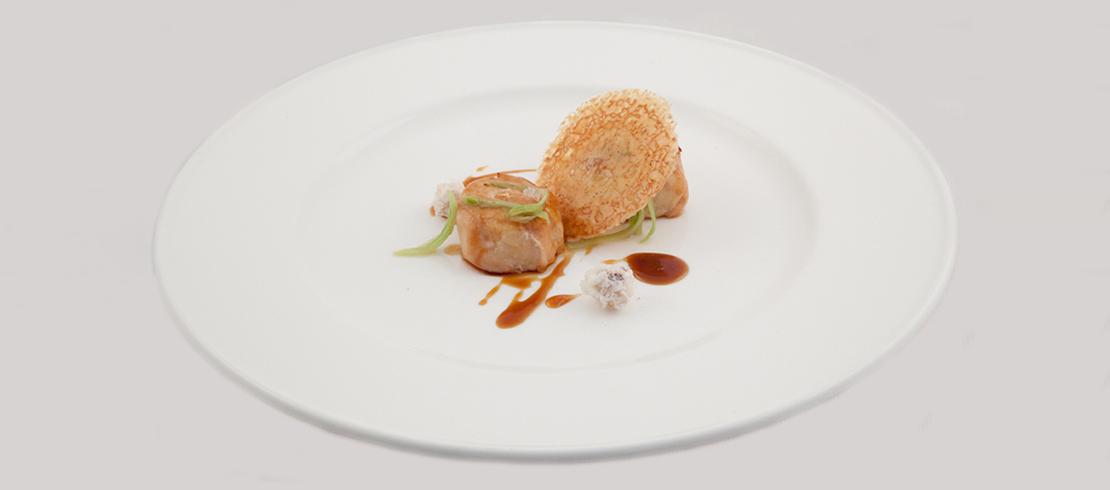 Filetto di gallina, malto aromatizzato, cannella e chiodi di garofano